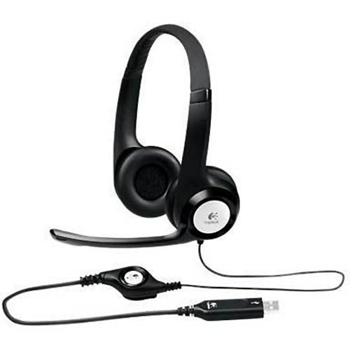 Clearchat Usb Headset - Logitech ClearChat Comfort USB Headset Wired Connectivity - Over-the-head 981-000014