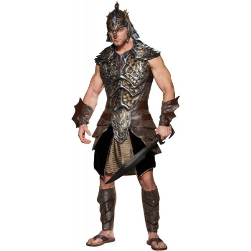 InCharacter Costumes Dragon Lord Costume,  Black/Gold,