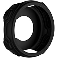 SHEAWA Garmin ForeAthlete 235J 保護カバー ケース シリコンカバー 保護ケース アクセサリー 735XTJにも対応 8色あり (ブラック)