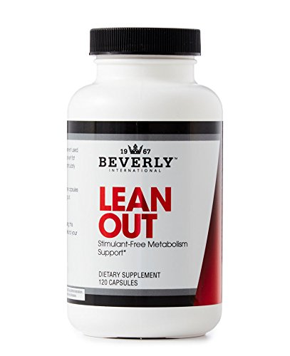Beverly International Lean Out 120 capsules. Exclusive natural caffeine-free weight-loss aid with lipotropics. Lose fat. Optimize metabolism. Get lean.