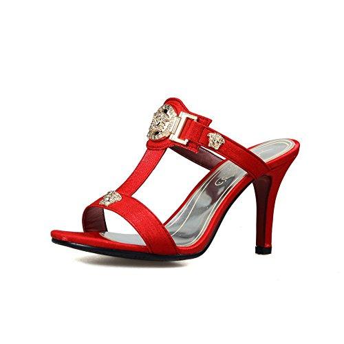 AdeeSu AdeeSu Red Ballerine Donna Ballerine 5wxRqT8