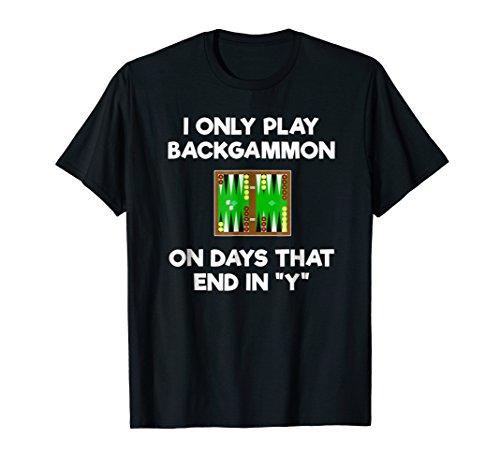 Backgammon T-Shirt Gift - Funny Days