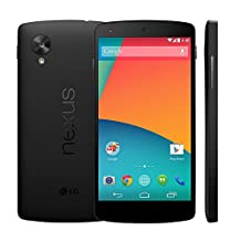 "LG Nexus 5 D820 16GB Unlocked GSM 4G LTE Quad-Core Android Smartphone w/ 5"" True HD IPS+ Multi-Touchscreen - Black"