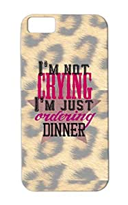 Dirtproof Pink Im Not Crying Just Ordering Dinner Girl For Iphone 5c Pregnancy Parents Baby Rock N Roll Baby Family Cover Case
