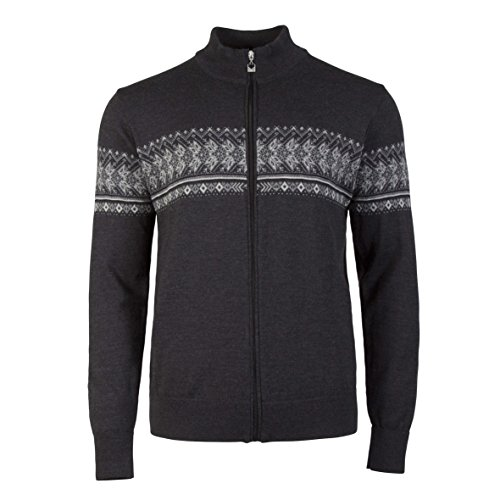 Dale of Norway Men's Hovden Athletic Sweaters, XX-Large, Dark Charcoal/Light - Dale Norway Sweater Mens
