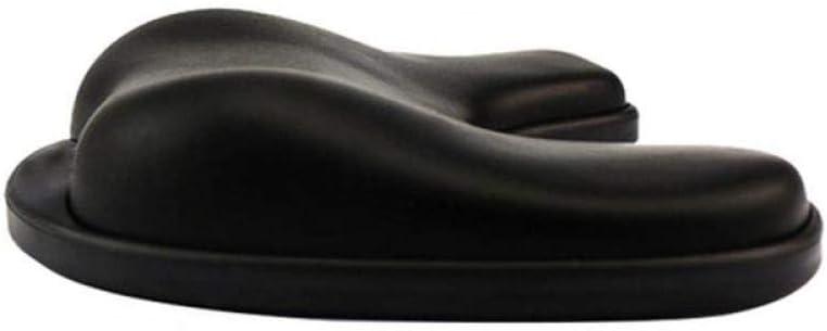 Black U Shaped Silicone Mouse Pad Wristband Innovative Wrist Support Ergonomic Mouse Hand Pillow Black