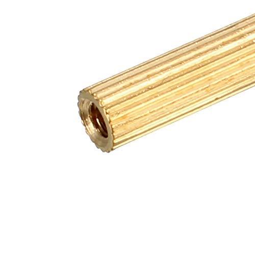 20 pcs Brass Straight Round PCB Pillar Female Thread Separator Separator M2x3x31mm