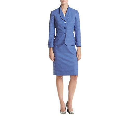 Le-Suit-Womens-Texture-3-Button-Jacket-Skirt-Suit