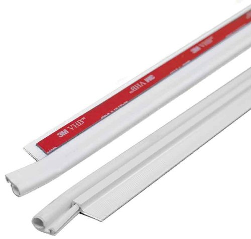 M-D Building Products 43304 Cinch Door Seal Tops and Sides, 42-Inch, White