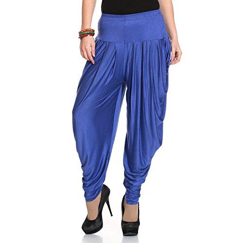 Legis Relaxed Comfortable Cotton Blend Dhoti Pants Yoga Fitness Active wear Women Dance - Free Size