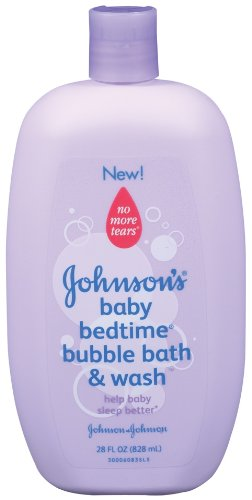 Johnson & Johnson Johnson's Baby Bedtime Bubble Bath & Wash, 28-Fluid Ounces Bottles (Pack of 4) by Johnson's Baby