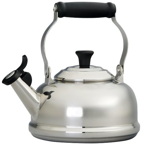 Le Creuset 1.8 Quart Stainless Steel Tea Kettle