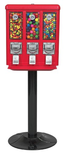 Coin Operated Lock - Selectivend 742104 Triple Vend Gumball Machine