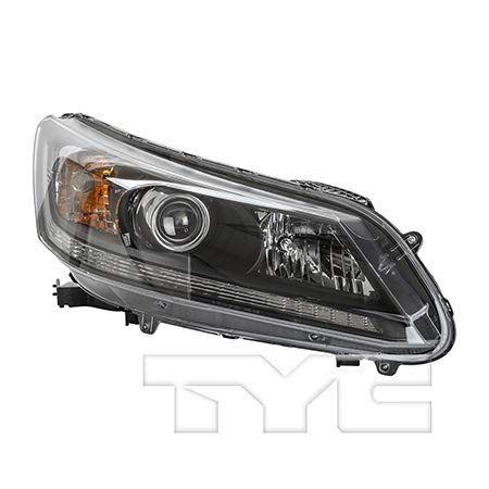 Fits 2013-2015 Honda Accord Headlight Passenger Side NSF Certified Bulbs Included HO2503151 - Replaces 33100-T2A-A01 ;EX EX-L LX SPORT; 2.4L; for Sedan; Halogen