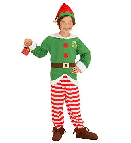 Xmas Boys Elf Suit Santa Helper Boys // Childrens Cosplay Fancy Dress // Little Helper 4-5 years Elf Coat Trousers and Hat Mega/_JumbleSale/® Childrens Santa Helper Costume