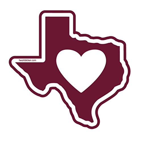 <span style=''>[해외]I Love Texas College Station State Shaped Stic..</span>
