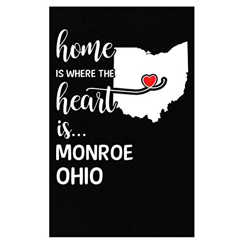 Inked Creatively Monroe County Ohio is Where My Heart is Gift - Poster