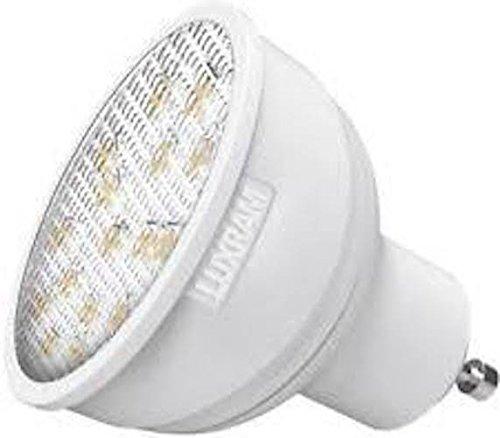 5,5 W GU10 LED lámpara de ahorro de energía instantáneo inicio blanco cálido 3000 K 450 lúmenes 25,000h 39 W salida de luz no contiene mercurio: Amazon.es: ...