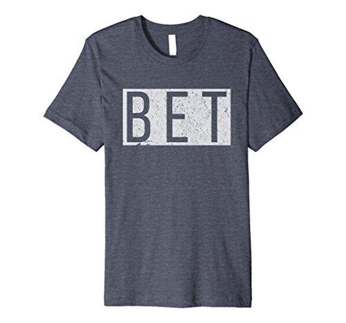 Mens Urban Slang Shirts: BET Premium T-Shirt Large Heather - Dictionary Urban Lightweight