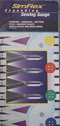 Simflex Sewing Gauge, Aluminum