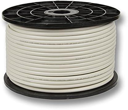 Cable coaxial PremiumX 100m Cable de antena SAT 135dB 5 vías ...