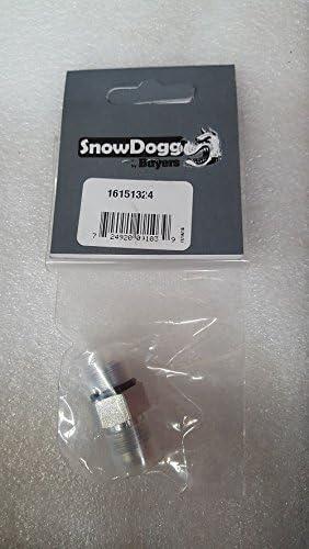 SnowDogg Part # 16151321-90 Degree Swivel Manifold Lift Fitting