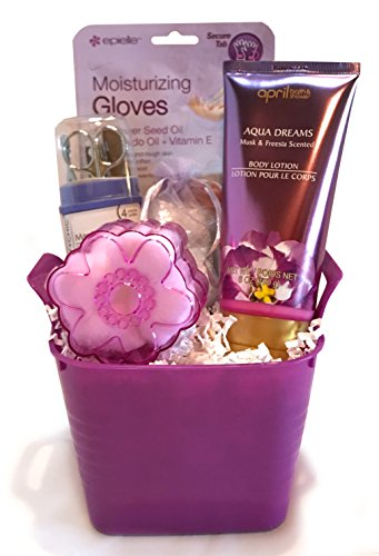 Spa Gift Baskets - Luxurious Bath Spa Set - Perfect for W...