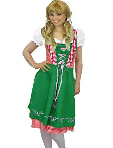 da Yummy Costume da Oktoberfest di Gingham 34 taglia Bee 46 donna carnevale 44n6rYw