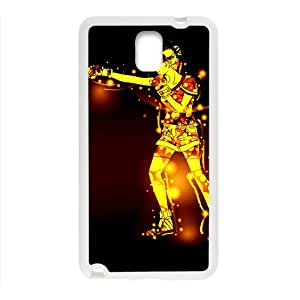 Fire Man Boxing Custom Protective Hard Phone Cae For Samsung Galaxy Note3