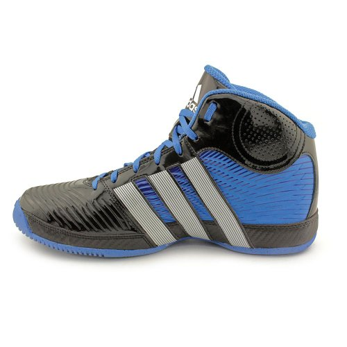 adidas basketball shoes black and blue