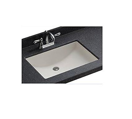 "Swanstone UCO1913.010 White Contour Undermount Bathroom Sink, 19"" ..."