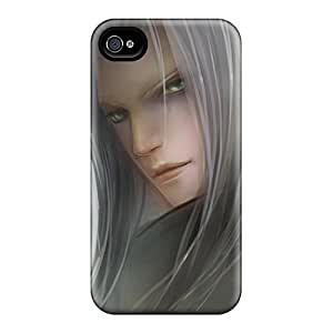 Fashion Tpu Case For Iphone 4/4s- Sephiroth Defender Case Cover