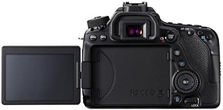 Canon Digital SLR Camera Body [EOS 80D] with 24.2 Megapixel (APS-C) CMOS Sensor and Dual Pixel CMOS AF – Black 41pDGlfpSbL
