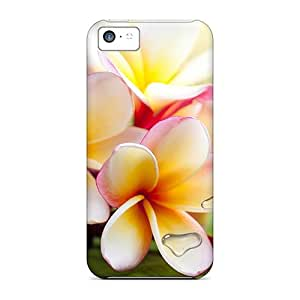New Exotic Plumeria Tpu Skin Case Compatible With Iphone 5c