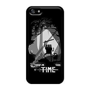 High Quality Hard Phone Cover For Iphone 5/5s (MuY7714uFqa) Custom Vivid Zelda Adventure Time Cartoonss Skin