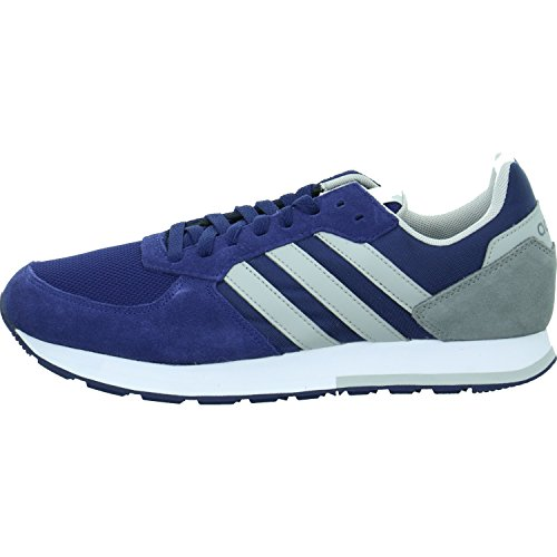 adidas Herren 8k Gymnastikschuhe, Rosso (Core Red S17/Solar Red/Core Black) Blau (Dark Blue/Grey Two F17/Grey Three F17)
