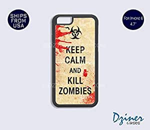 Case Cover For SamSung Galaxy S5 model - Keep Calm Kill Zoombies