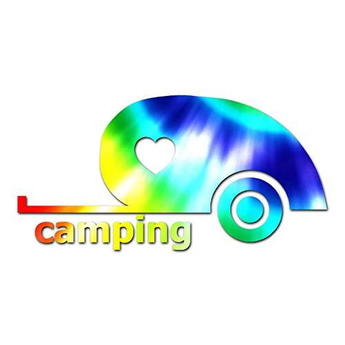 Love Teardrop Camping - Vinyl Decal Sticker - 11.5