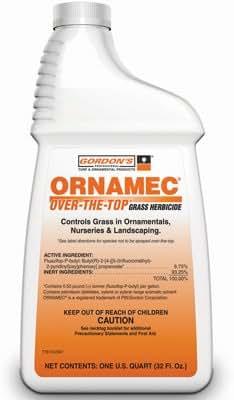 Pbi/Gordon- Ornamec Over-The-Top Grass Herbicide, 1-Quart