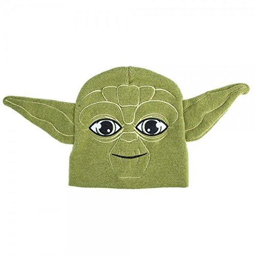 Star Wars Yoda Winter Beanie Hat Green Unisex Boys/Girls Winter Cap Disney 4-16 (Star Vs The Forces Of Evil 18)