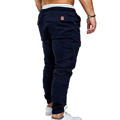 Pantaloni Casual Tunica In pocket Tooling Navy Tessuto 2018 Multi Oneforus Blu Da A Uomo AqwISZz