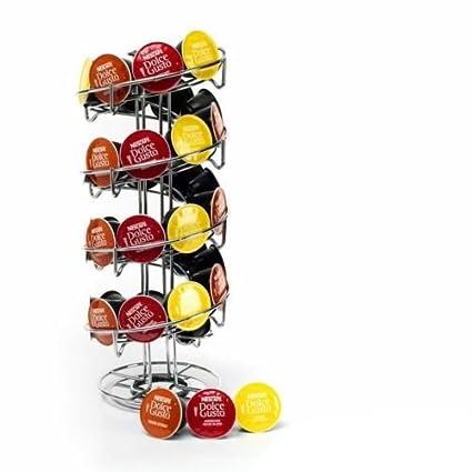 Espiral 40 Cápsulas de café soporte para cápsulas de soporte para torre de café Dolce Gusto