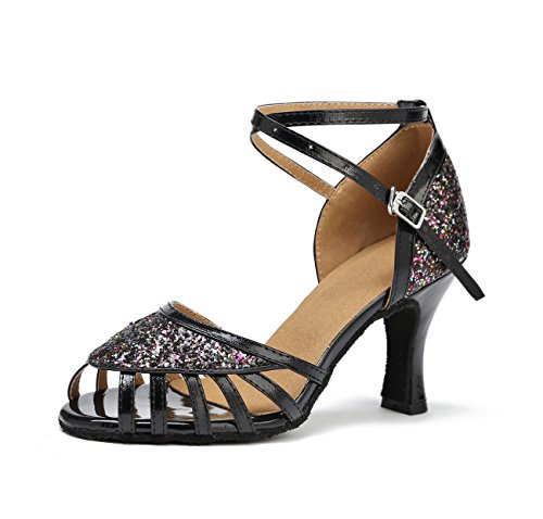 Miyoopark , Damen Tanzschuhe Multi-color-8cm Heel