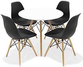 CAMBIA TUS MUEBLES - Replica Mesa Eames 080 R + 4 sillas Eames ...