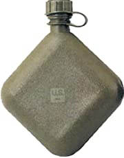 Official US Military Collapsible 2 Quart Water Canteen with M1 Cap