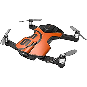 Wingsland S6 Pocket RC Quadcopter FPV Selfie Drone 4K HD Camera 3-Axis Gimbal Phone Control Foldable RTF Helicopter (Outdoor Edition)