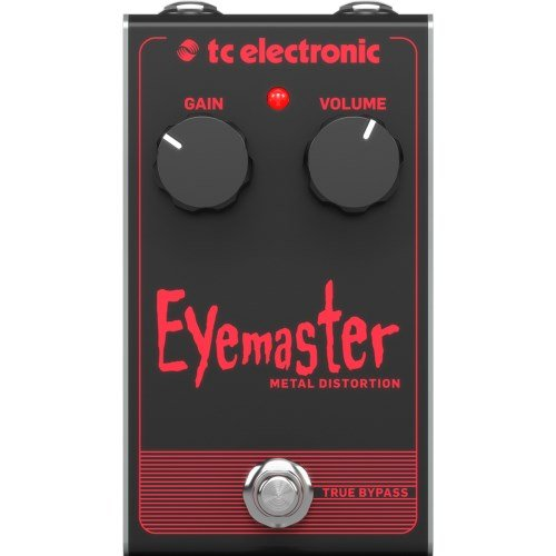 TC Electronic Electric Guitar Single Effect EYEMASTER METAL ()