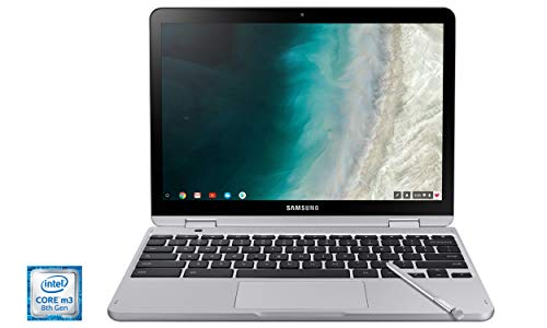 Samsung Chromebook Plus V2, 2-in-1, Intel Core m3, 4GB RAM, 64GB eMMC, 13MP Camera, Chrome OS, 12.2