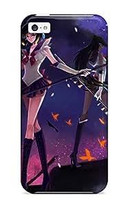 Animal Butterfly Meiou Setsuna Moon Nako Nonrain Night Sailor Moon Stars Tomoe Hotaru Case Compatible With Iphone 5c/ Hot Protection Case
