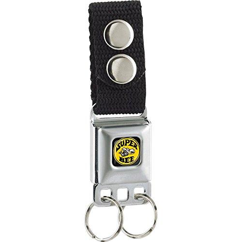 Dodge Super Bee Seat Belt Buckle Keychain (Seat Belt Buckle Emblem)